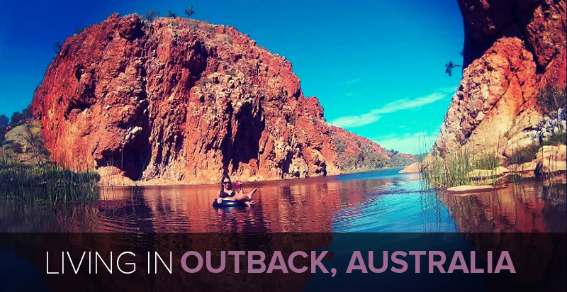 Living in Glen Helen Gorge: Ana Marco on Life in Australia
