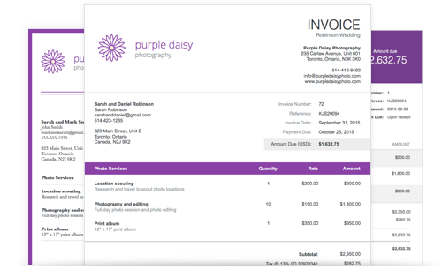 How To Receive Payment For Freelance Work Freelancer Payment - Wave invoice software