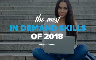 The Most In Demand Skills of 2018 – Digital Marketing, Tech & IT Skills