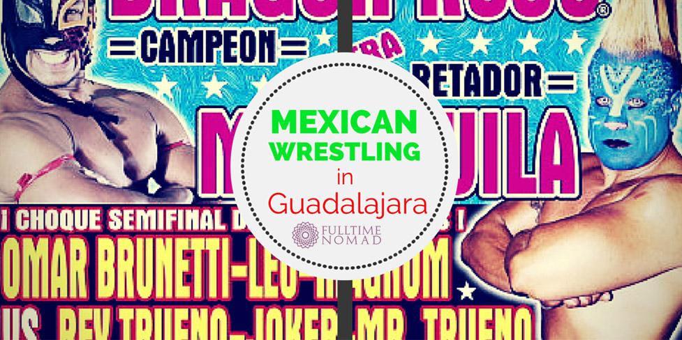 Mexican Wrestling (Lucha Libre) In Guadalajara