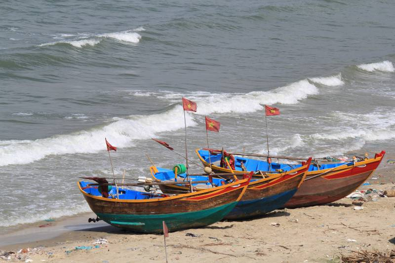 Fishing boats Mui Ne
