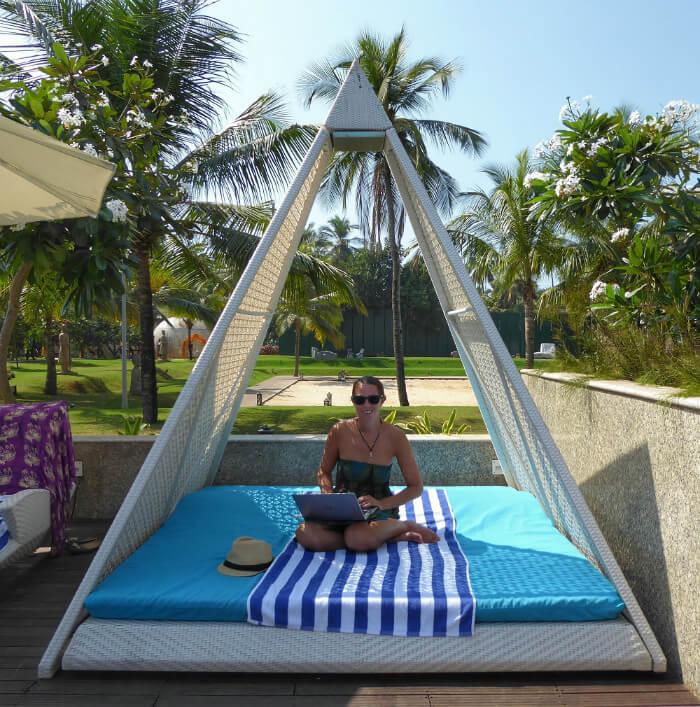 living in Goa