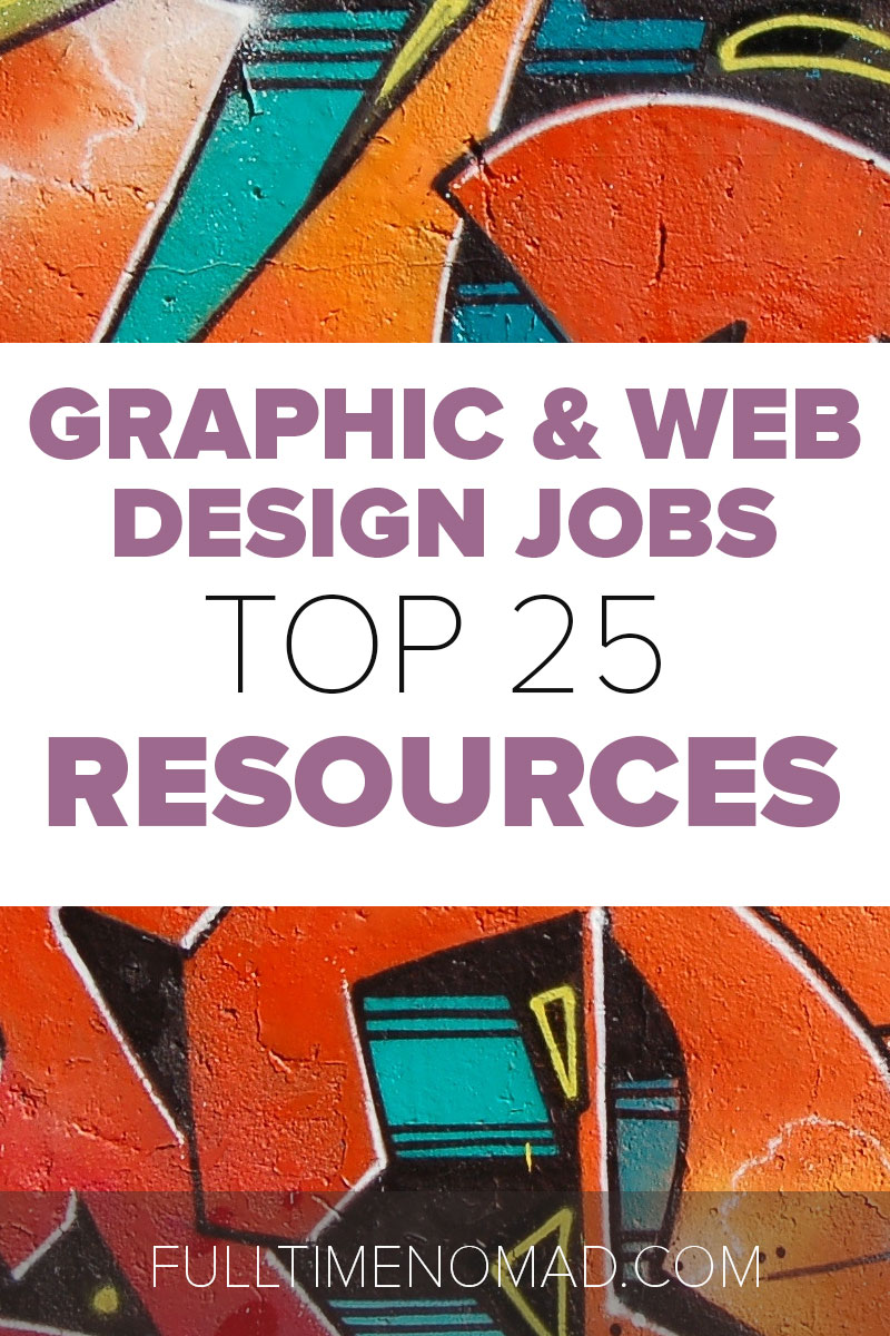 Websites listing freelance design jobs have been a stepladder to many freelancers. Here's a list of the top freelance design job sites worth your time. | FulltimeNomad.com