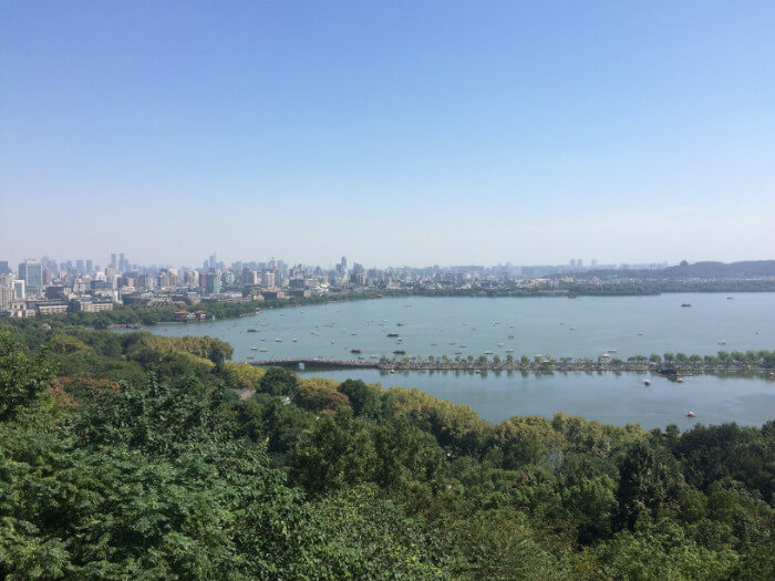 living in Hangzhou