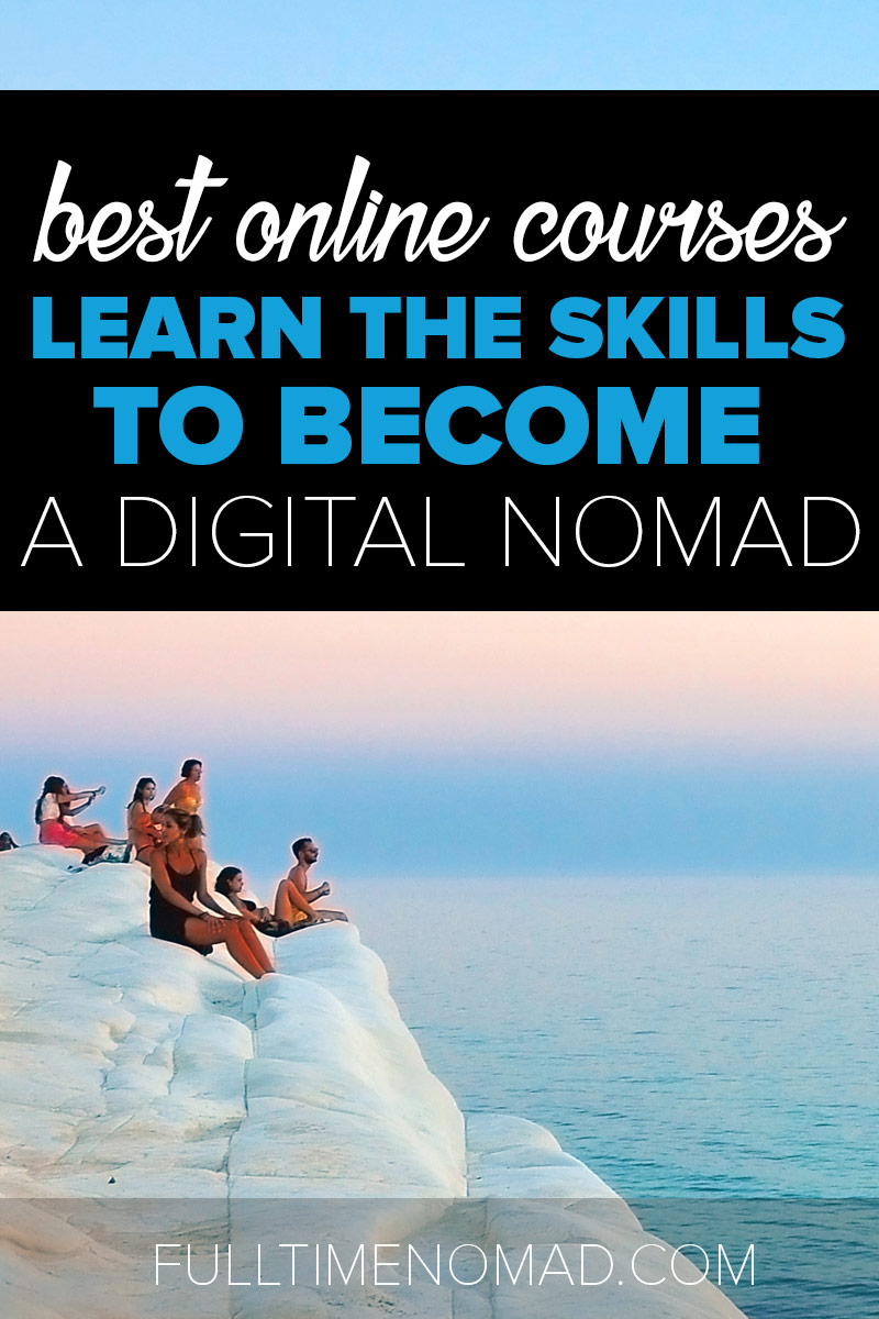 40+ of the best online course providers to help you learn, develop and grow your digital nomad skills. Check out our recommendations to get started. | FulltimeNomad.com