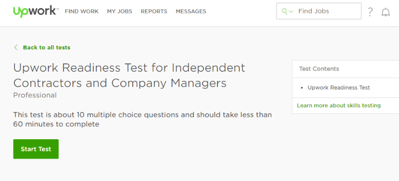 Upwork profile not approved
