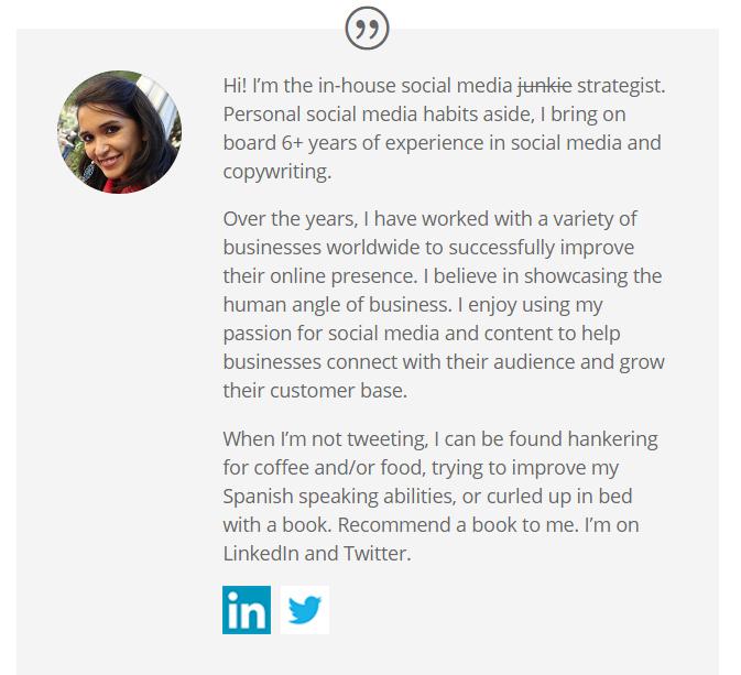 freelance portfolio about me
