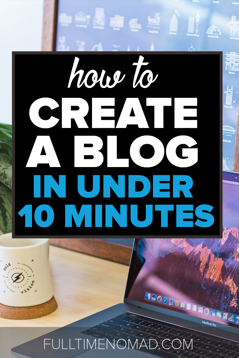 Ever wanted to make money blogging? We show you how to start a blog (any type of blog!) in simple, easy to understand terms. Check out our guide. | FulltimeNomad.com