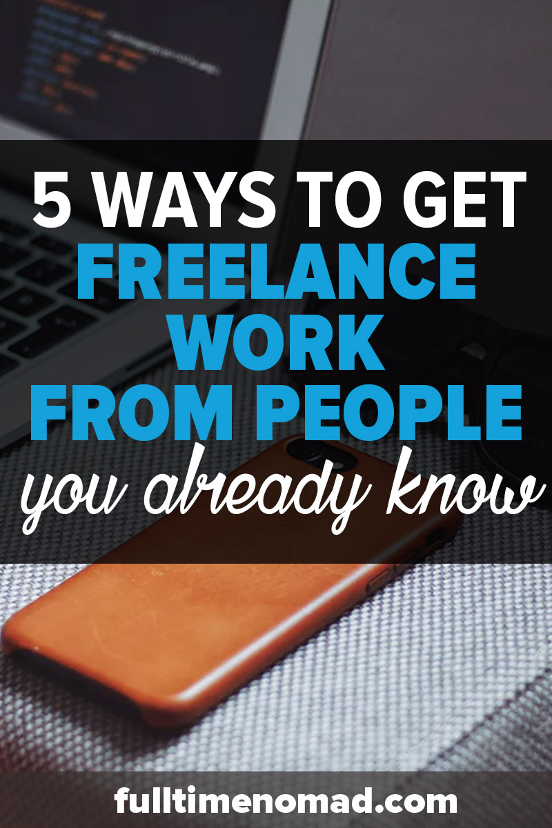 Learn how to get freelance client referrals as well as actionable tips on how to approach them so that you can build a sustainable freelance business. | FulltimeNomad.com