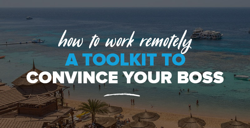 How to Work Remotely: A Toolkit to Convince Your Boss